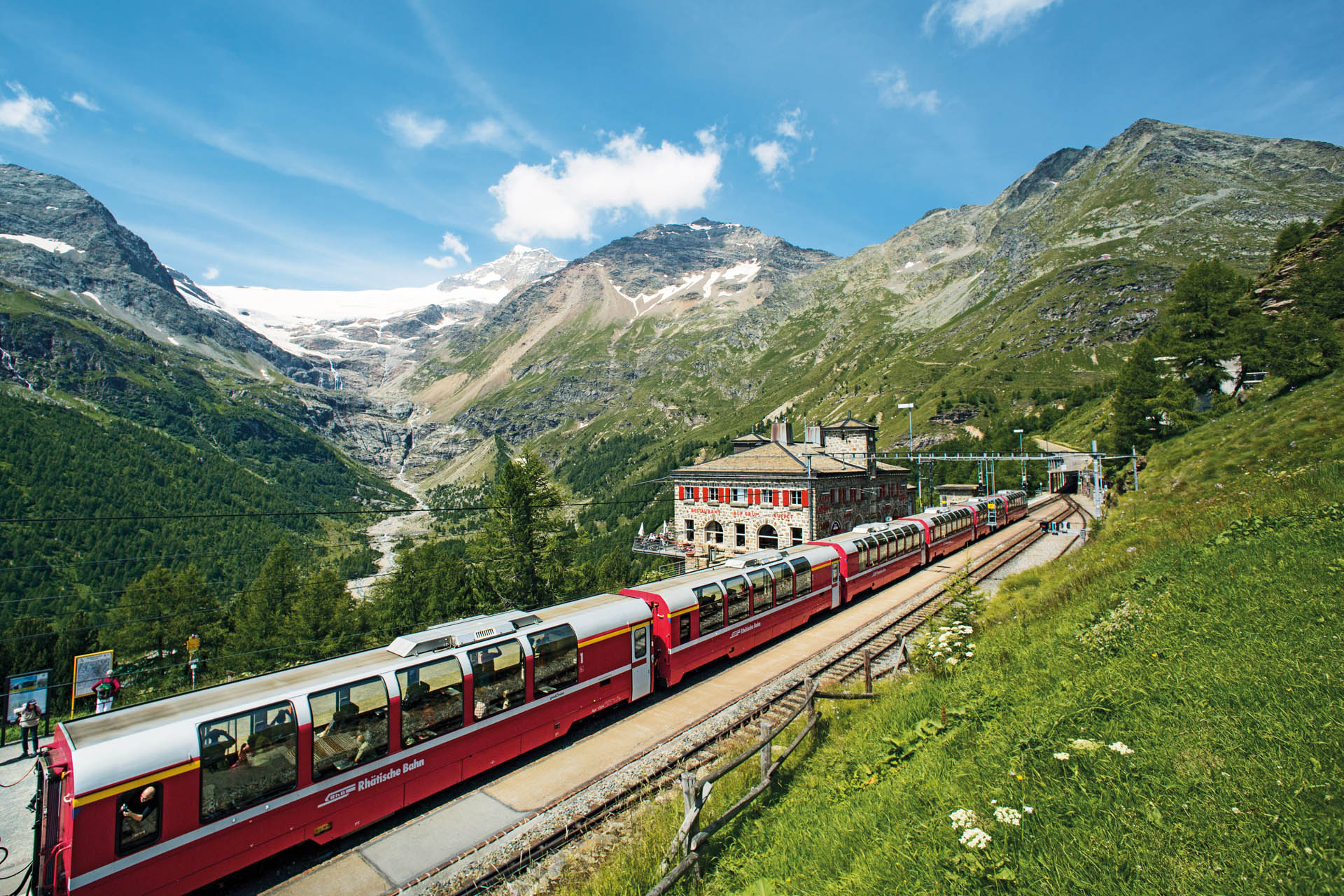 Bernina Express Alpine Traveler