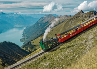 Swiss Travel System: Brienz Rothorn Bahn