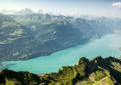 Switzerland  Summer: Brienz, Brienzer Rothorn Panorama