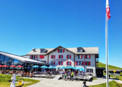 lodge and restaurant at Mannlichen