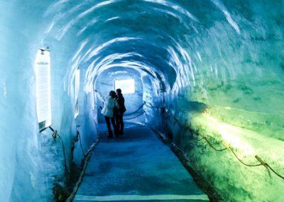 mer de glace ice grotto - Salome Abrial